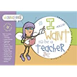 Pretend Teacher Set for Kids -- Complete Pretend Teacher Kit Including Registers, Stickers and Weather Charts