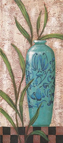 [Oil Painting 'a Green Vase', 10 x 23 inch / 25 x 57 cm , on High Definition HD canvas prints is for Gifts And Bar, Laundry Room And Living Room Decoration,] (China National Costume Name)