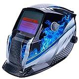 Welding helmet|welding mask|Helmet Mask Solar Auto DarkeningAdjustable Shade Range DIN 9-13/Rest DIN 4Welder Protective Gear ARC MIG TIG (B|By KALLAR