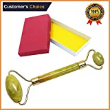 Facial Bones Muscles - Premium Jade Roller|Facical Jade Roller Massage Body Tool|Anti Aging Tools for Facical Skin|Slimming Tool|100% Natural Jade Stone|Perfect Jade Roller For Face,Neck,Eyes|Anti-Wrinkle Beauty Skincare