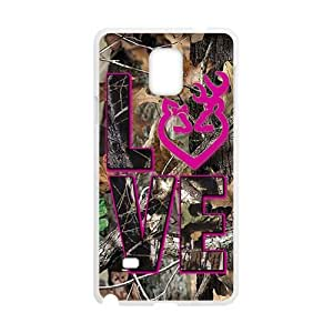 Autumn branch pink love Cell Phone Case for Samsung Galaxy Note4