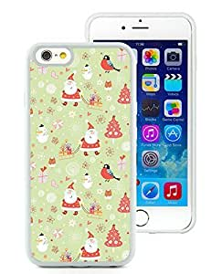 Recommend Design Case Cover For HTC One M8 Carton Merry Christmas White Hard Case 1