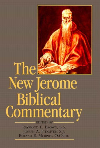 New Jerome Biblical Commentary, The (paperback reprint) (3rd Edition)