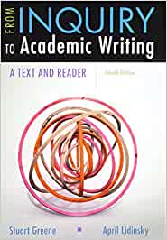 from inquiry to academic writing a text and reader online Find 9780312601416 from inquiry to academic writing : a text and reader 2nd edition by greene et al at over 30 bookstores buy, rent or sell.