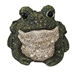 Toad Hollow #44112 Hoppy Toad Two-Tone Garden Statue, Medium, Green/White Review