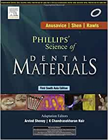 phillips science of dental materials 1st south asia edition pdf