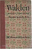 Walden Illustrated Modern Library Edition