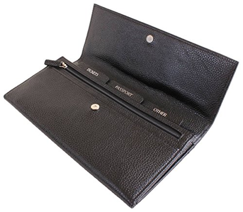 Black Wallet Byron and Brown Womens Wallet Womens Brown and Byron Travel Travel tFqPBxAFw