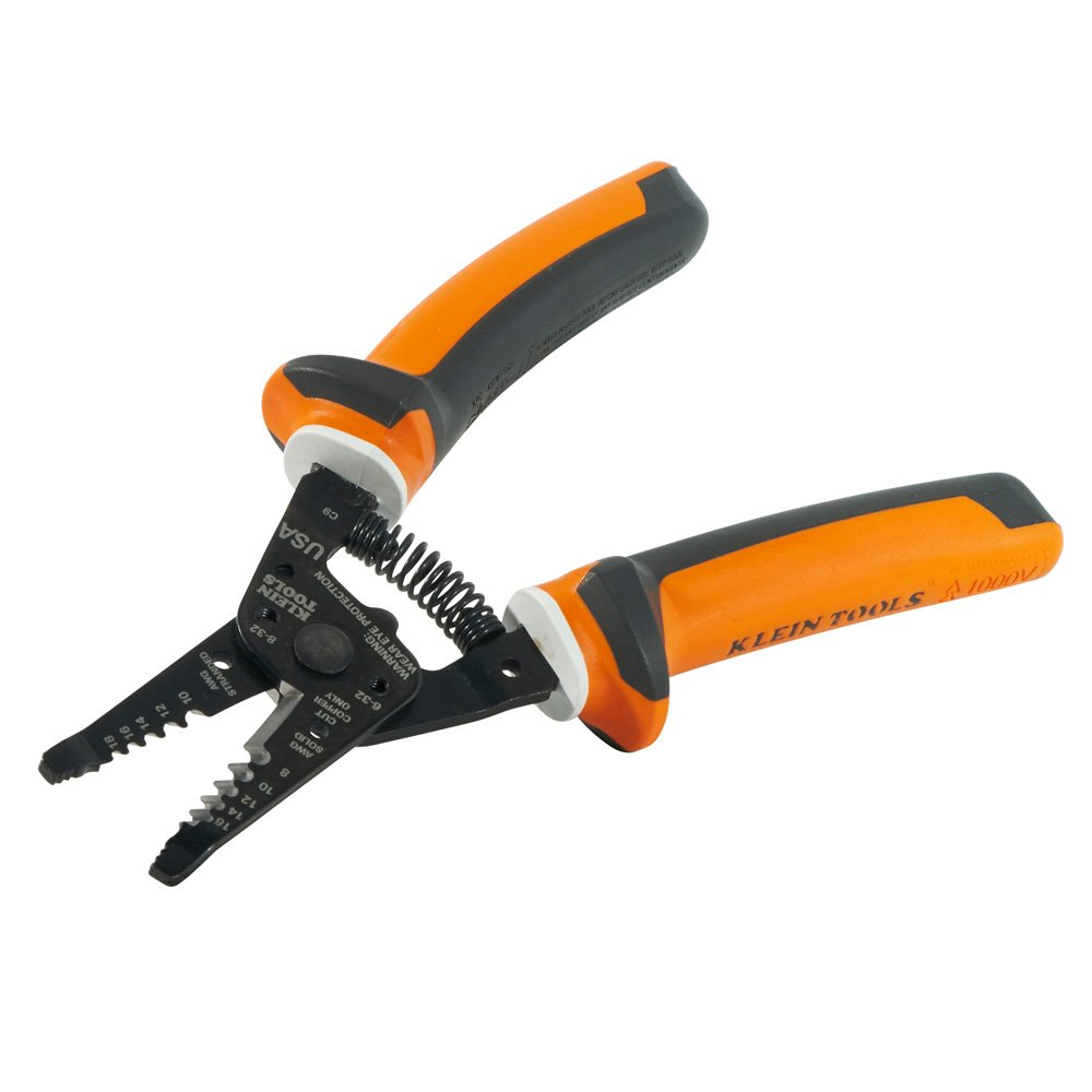 Klein Tools 11054EINS Electrician's Insulated Wire Stripper/Cutter by Klein Tools