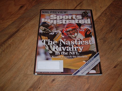 Sports Illustrated, October 2, 2006 issue-Caleb Miller-Cincinnati Bengals & Hines Ward Pittsburgh Steelers cover photograph.