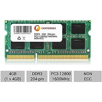 4GB Memory Module PC3-12800 SODIMM For ASUS K53E