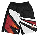 NBA Men's MotorCross Athletic Shorts, Team Options (Cleveland Cavaliers, Small)