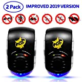 Quality10x Ultrasonic Pest Repeller Plug in 2019 | Award Winning Pest Control Technology | Adult Child & Pet Friendly | Anti Mice,Spiders, Ants,Fleas, Mosquito, Roaches, Rats, Moles, Bugs, Rodents