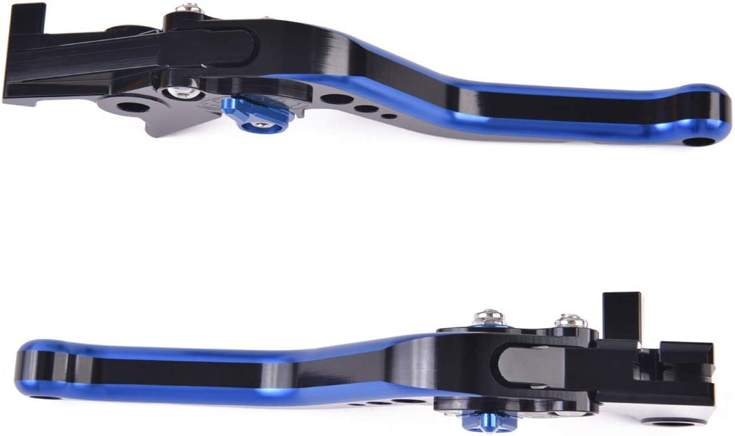 Heran Short Brake Clutch Levers for BMW S1000RR//S1000R 2015-2019,Titanium