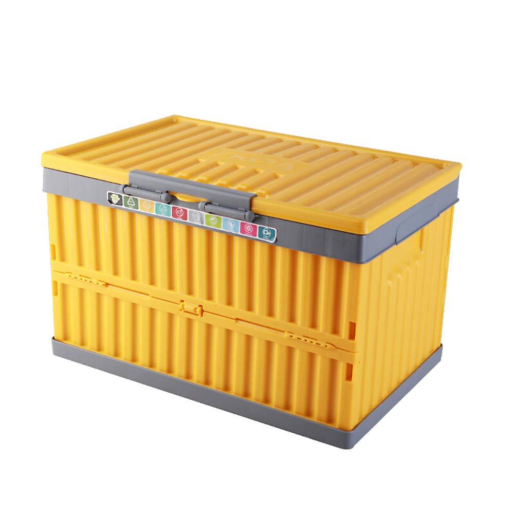 BLAKQ car Trunk Organizer Storage- Car Trunk Storage Box Car Storage Box Car Storage Box Plastic Folding Box (Style : A)
