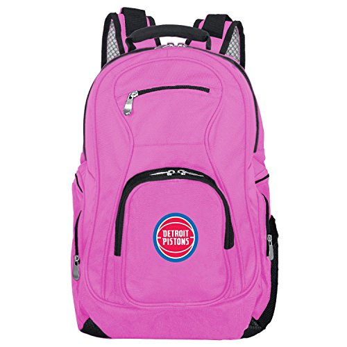 NBA Detroit Pistons Pink Premium Laptop Backpack