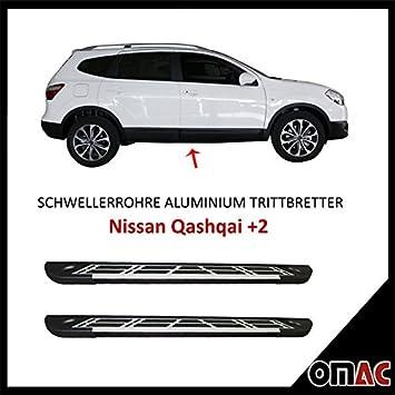 Potenciador tubos aluminio pedalada Tablas para Nissan Qashqai + 2 Sunrise (183): Amazon.es: Coche y moto
