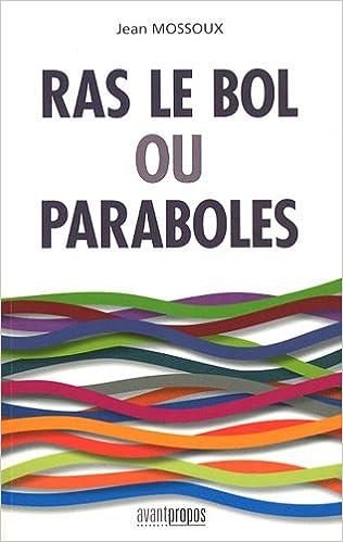 Livre gratuits Ras le bol ou Paraboles pdf, epub ebook