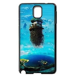 Samsung Galaxy Note 3 phone case Laputa Castle in the Sky Hard Case Black 02
