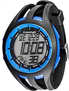 Freestyle 101803 Black Silicone Quartz Watch with Digital Dial