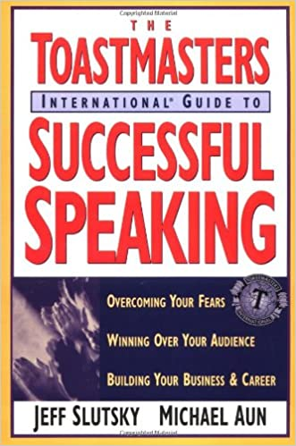 The cover of Toastmasters International Guide to Successful Speaking, which includes an image of hands clapping and the Toastmasters logo.