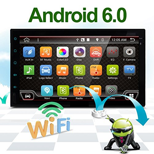"Best WiFi Model Android 6.0 Quad-Core 7"" Full Touch-Screen U"