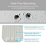 TotalMount Hole-Free Remote Holder - Eliminates