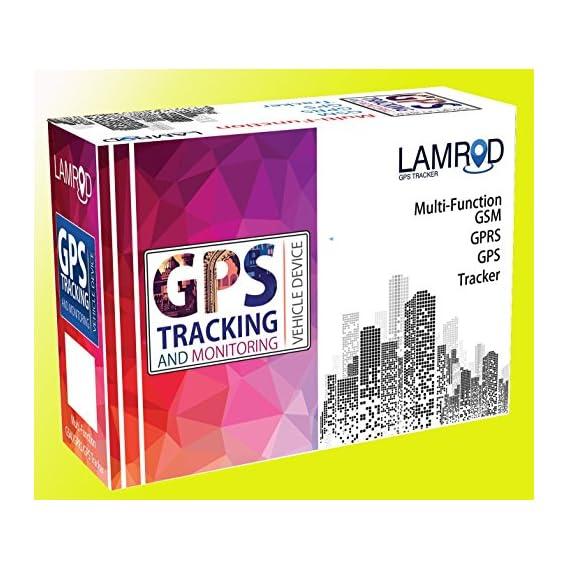 LAMROD GPS Tracker Ultra GT02A Real-time Vehicle Car/Bike Tracking