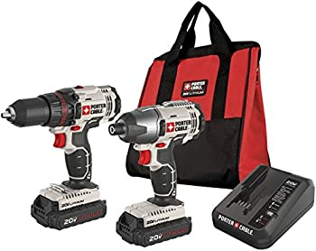 Porter-Cable 20-V Lithium Ion Combo Kit w/Case