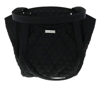 16eeec5bcdfa Vera Bradley Glenna Shoulder Handbag - Classic Black  Handbags  Amazon.com