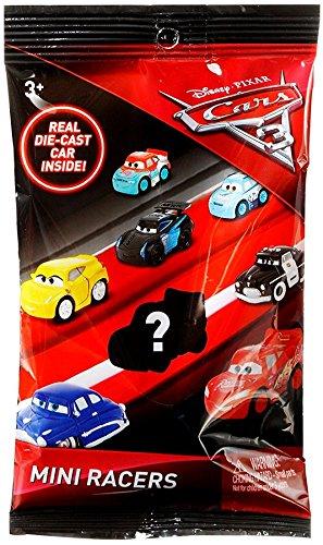 Mattel Bundle of 1: Disney Pixar Cars 3 Die-Cast Mini Racers Blind Bag