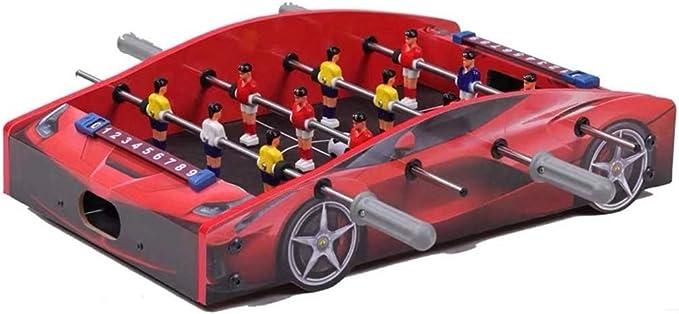 YUHT Futbolín Infantil,Portable Mesa de futbolín en el Juego de fútbol - Fútbol recreativo Mano - Competencia de Mesa de fútbol de Sala de Juegos con Dos Bolas Durante 12 niños Jugadores: