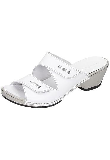 Comfortabel Damen-Slipper Blau 942027-5, Grösse 36