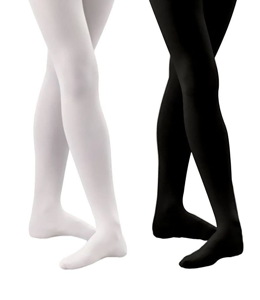 4a22456551594 UNBEATABLE QUALITY - Our girls opaque tights dance tights are made from  nylon and lycra, breathable and stretchy, comfortable and durable.