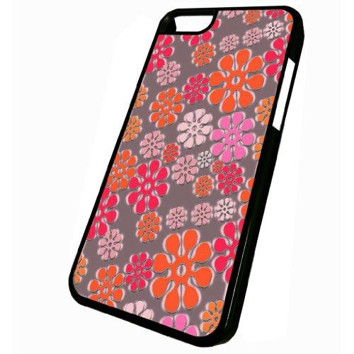 Flower Power Pattern - iPhone 5c Glossy Black Case