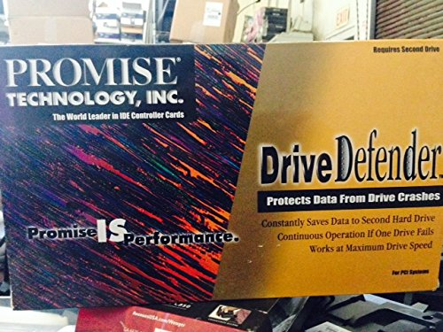 Promise Technology Drive Defender ATA/EIDE controller card - Constantly Saves Data To a Second Hard Drive - Hardware RAID Card