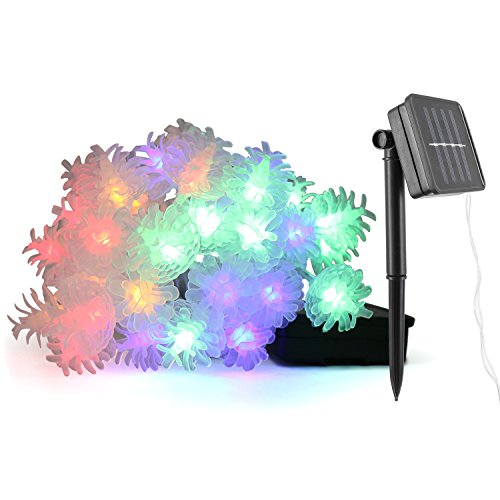 Pine Cone Outdoor Christmas Lights - 9