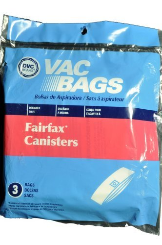 Fairfax Canister Vacuum Cleaner Bags