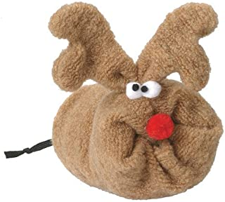 product image for West Paw Design Rudy Squeak Toy for Dogs, Holiday, Wheate