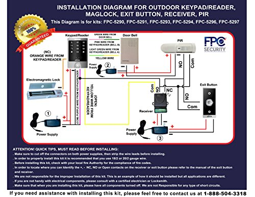 Fpc Security Maglock Access Control Systems Security - #Summer
