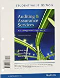 Auditing and Assurance Services, Student Value Edition, Arens, Alvin A. and Elder, Randal J., 0133125688