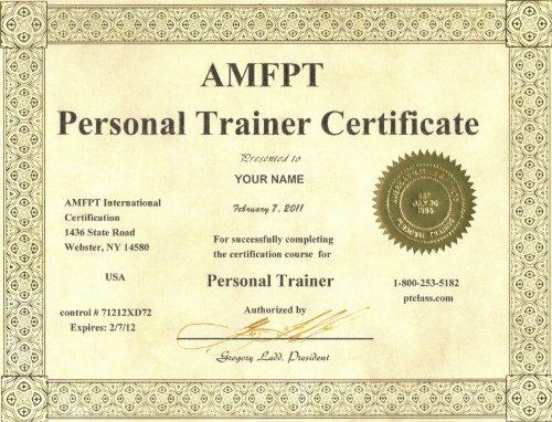 Amazon.com: AMFPT Personal Trainer Certification Manual eBook ...
