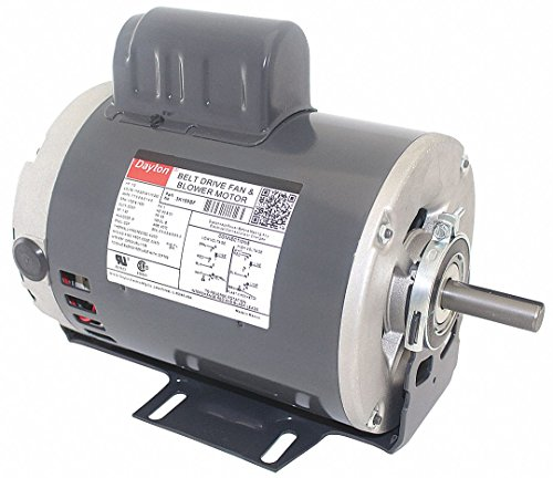 1/2 HP Belt Drive Motor, Capacitor-Start, 1725 Nameplate RPM, 115/230 Voltage, Frame 56 (Frame 56 Capacitor)