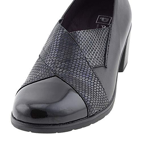 Chaussures Peau Noir de 38 PITILLOS Taille Couleur dOfEdwq