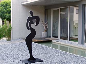 Sibylle Rettenmaier U0026quot; TIA U0026quot; Moderne Gartenskulptur   Skulptur    Plastik Aus Metall