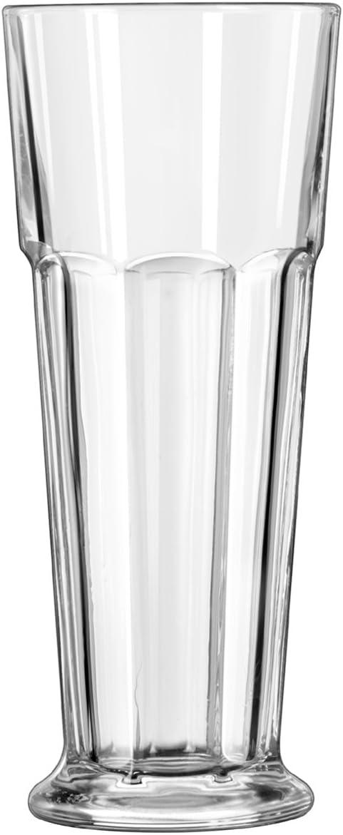 Libbey 15429Footed Gibraltar 14oz Pilsner de cristal–24/CS