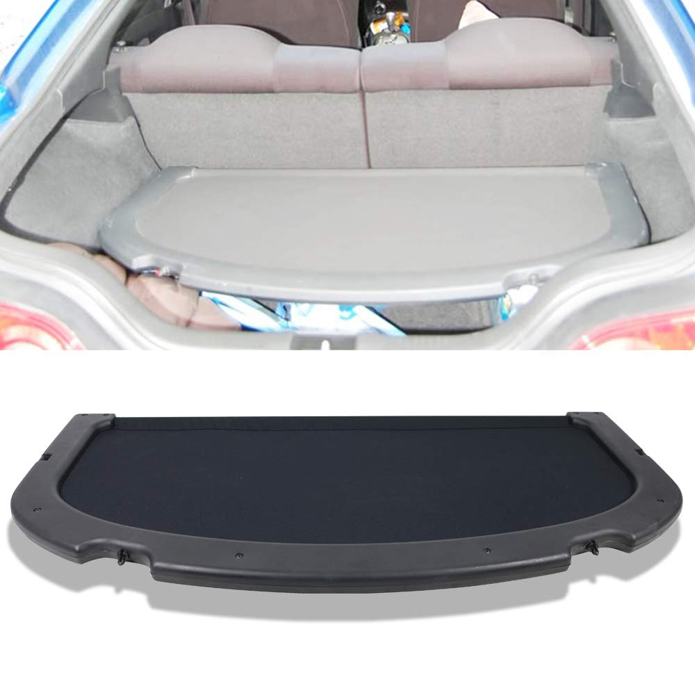Free-motor802 Cargo Cover Fits 2002-2006 Acura RSX   OE Style Black Trunk Privacy Cover Luggage Cover