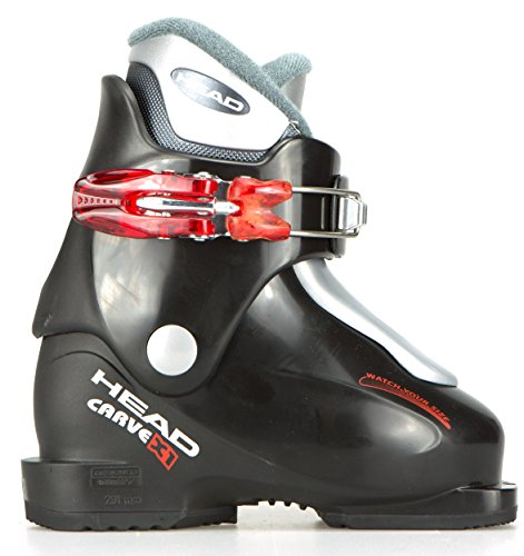 Head Carve X1 Ski Boot 2009, Black/ Red, 15.5 by HEAD