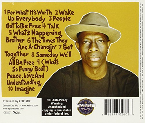 By Popular Demand Another Free Talk At >> Keb Mo Peace Back By Popular Demand Amazon Com Music