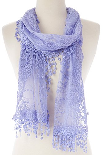 Women's lightweight Feminine Cotton Scarf